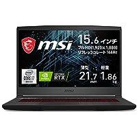 【NVIDIA最新RTX3060搭載・薄型軽量】MSIゲーミングノートPC GF65 1.86Kg i7 RTX3060…