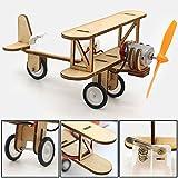 JACKBAGGIO 新しい 技術 科学的な 手作り モデル 電気の ダブルウインググライダー 実験キット にとって 子供 の間に 6〜12歳(diy tool 01)