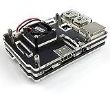 Raspberry Pi 3 and Raspberry Pi 2 Model B MINI ファン付アクリルケース ブラック