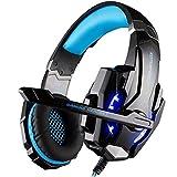 ゲーミングヘッドセット Foneso ヘッドホン イヤホン ゲーム用 PS4/PC/パソコン/タブレット/スマホ対応