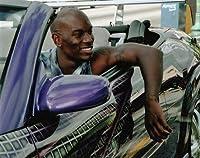 ブロマイド写真★『ワイルド・スピードX2』タイリース・ギブソン/エクリプス・スパイダーに乗るローマン・ピアース