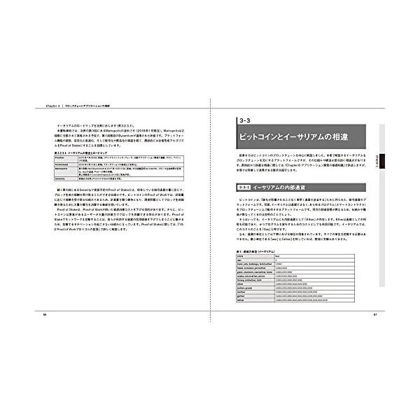 ブロックチェーンアプリケーション開発の教科書の紹介画像6