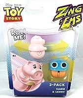 Disney Pixar Toy Story ZingEms - 2 Pack Hamm & Lenny [並行輸入品]