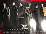 EXILE THE SECOND 特典カレンダーポスター