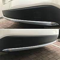RUIQ トヨタ 新型 プリウス PHV (ZVW52) 専用 外装 クロームメッキ リアバンパー アンダー ガーニッシュ TOYOTA PRIUS PHV 52系 専用 設計