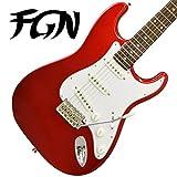 FgN フジゲン ストラトキャスター エレキギター J-Classic JST6R CAR(キャンディアップルレッド) 【日本製】