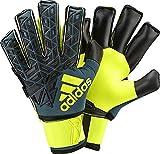 adidas(アディダス) サッカー ゴールキーパーグローブ ACE TRANS ウルティメイト BPG71 テックグリーンF 16 ×ブラック×ソーラーイエロー(AP6990) 7