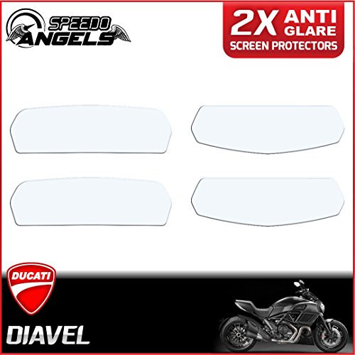 Ducati Diavel ダッシュボード計器クラスタースクリーンプロテクターフィルム - 反射防止 Anti Glare Screen Protector