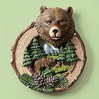 北欧 動物 熊 樹脂壁飾り クマの壁掛け ヘッド 動物オブジェ アニマル 壁掛け 壁掛けインテリア おしゃれ OSONA