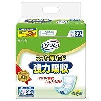 【大人用紙おむつ類】リフレスーパー尿パッド強力吸収 39枚【6個パック】ケース販売