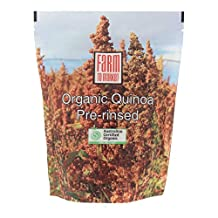 Australian Organic Quinoa, Pre-rinsed, 500g, Direct from Farm, Saponin has been washed off, Easy for digestion
