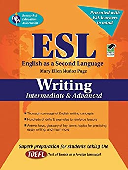ESL Intermediate/Advanced Writing (English as a Second Language Series) by [Page, Mary Ellen Munoz, Steven Gras]