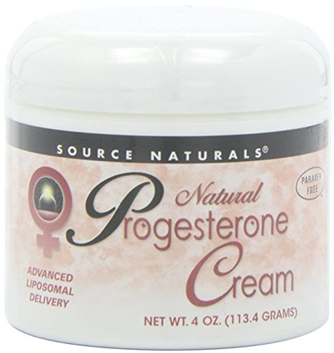 かんたんアプローチ要旨Source Naturals Natural Progesterone Cream, 4 Ounce (113.4 g) クリーム 並行輸入品 [並行輸入品]
