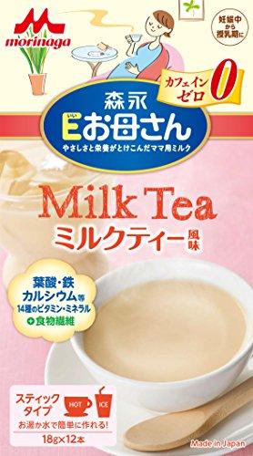 森永 Eお母さん ミルクティー風味 18g×12本入