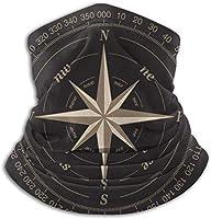 Compass Pattern コンパスパターン ネックウォーマー ふわふわ 暖かい おしゃれ 多機能 フェイスマスク チューブ 伸縮性があり寒 防風スポーツ ストレッチ 自転車 バイク 釣り 登山 アウトドア スキースノボ フリーサイズ 男女兼用