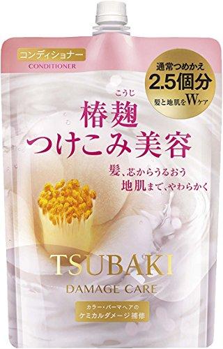 ツバキ(TSUBAKI) ダメージケアコンディショナー 詰替用 大容量(950mL)