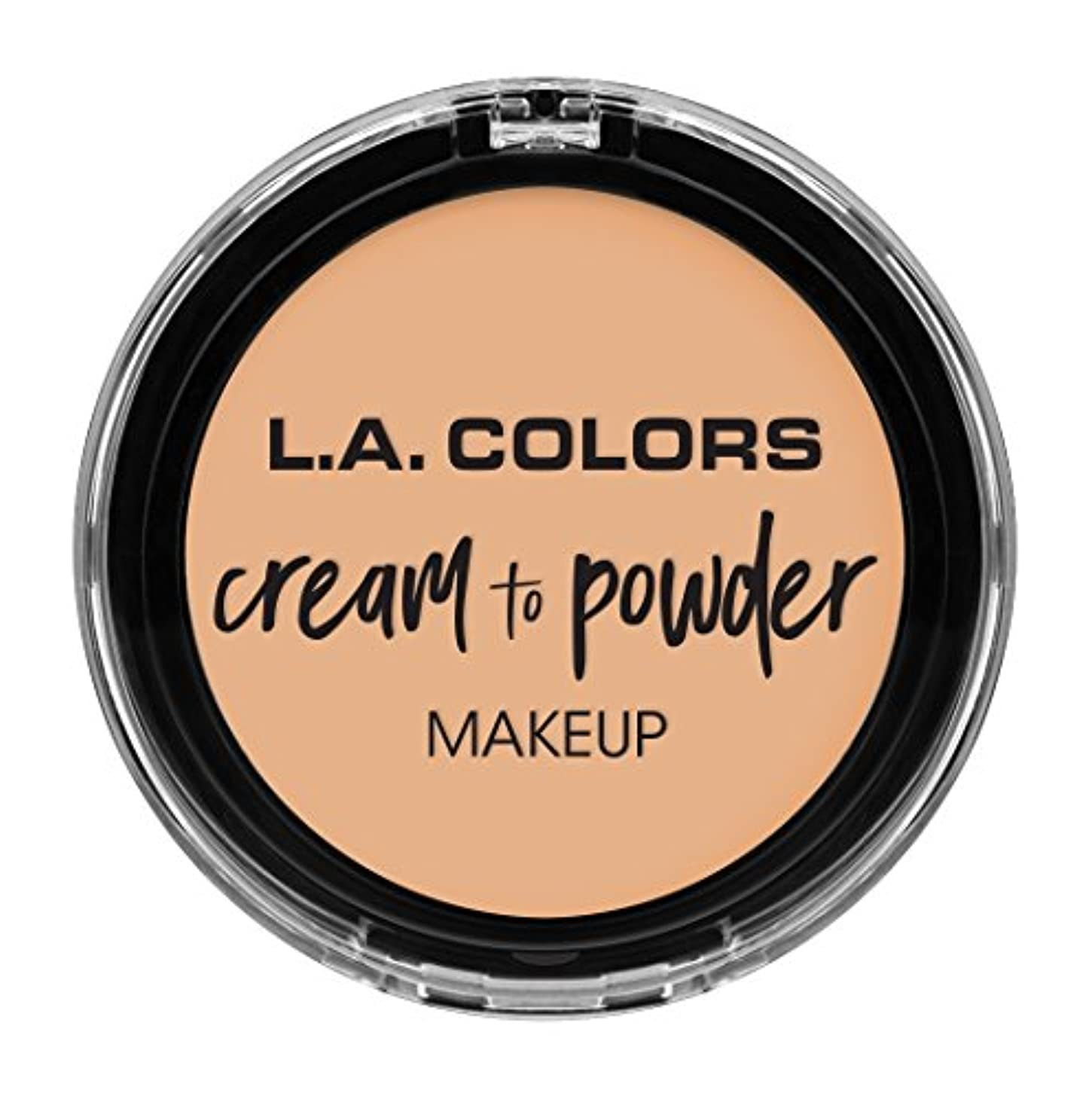 L.A. COLORS Cream To Powder Foundation - Buff (並行輸入品)