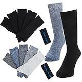 (メンズ ウーノ)men's uno ビジネスソックス【10足セット】黒・杢 ソックス メンズ 靴下 抗菌 防臭 メンズ ビジネス リブソックス 靴下