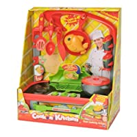 Cook N' Kitchen Kitchenette Playset with Grill [並行輸入品]