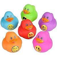 Emoji Rubber Duckies (12 Ducks)