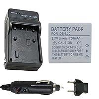 バッテリーと充電器for Sanyo db-l20、db-l20au Li - Ion充電式バッテリー