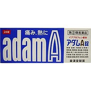 【指定第2類医薬品】アダムA錠 24錠 ※セルフメディケーション税制対象商品