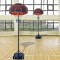 ( US Stock )調節可能なバスケットボールフープ、ユースポータブルバスケットボールシステム – 28インチBackboard