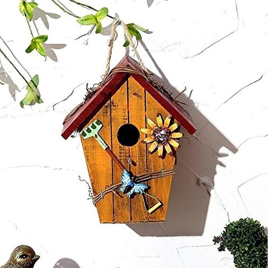 編集する忘れる編集する野鳥用 巣箱 木製の鳥の表庭の巣箱フィーダーシェルター給餌ステーションポータブル給餌表駅バードハウス 屋外 庭の装飾 (Color : A, Size : Free size)