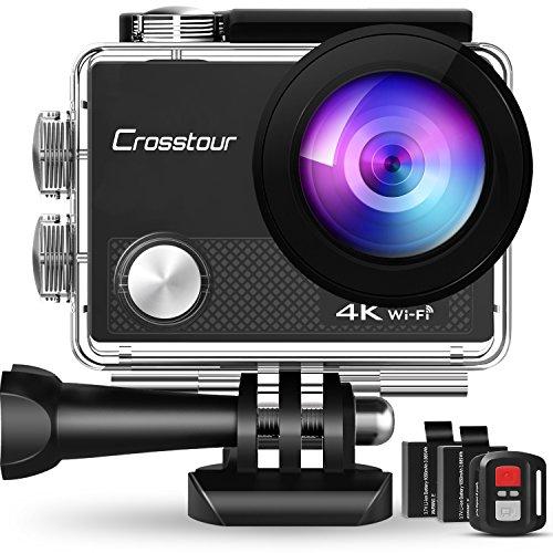 Crosstour アクションカメラ 4K WiFi 超HD...