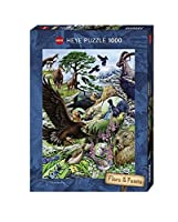 HEYE Puzzle  ヘイパズル  29618  Marion Wieczorek  :  Flora & Fauna, High Mountains  (1000 pieces)