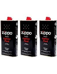 [ジッポー] ZIPPO ライター用 交換 オイル 大缶 355ml 純正 消耗品 (3本セット) zippo-oil-l-3