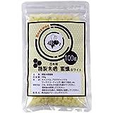 日本製 ビーズワックス みつろう (100g ホワイト)
