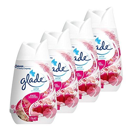 グレード 芳香剤 置き型 お部屋・トイレ用 ソリッドエアフレッシュナー エンジェルウィスパーの香り 4個セット 170g×4個
