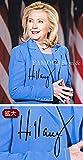 直筆サイン入り写真 ヒラリー・クリントン 大統領 候補 グッズ【証明書(COA)・保証書付き】