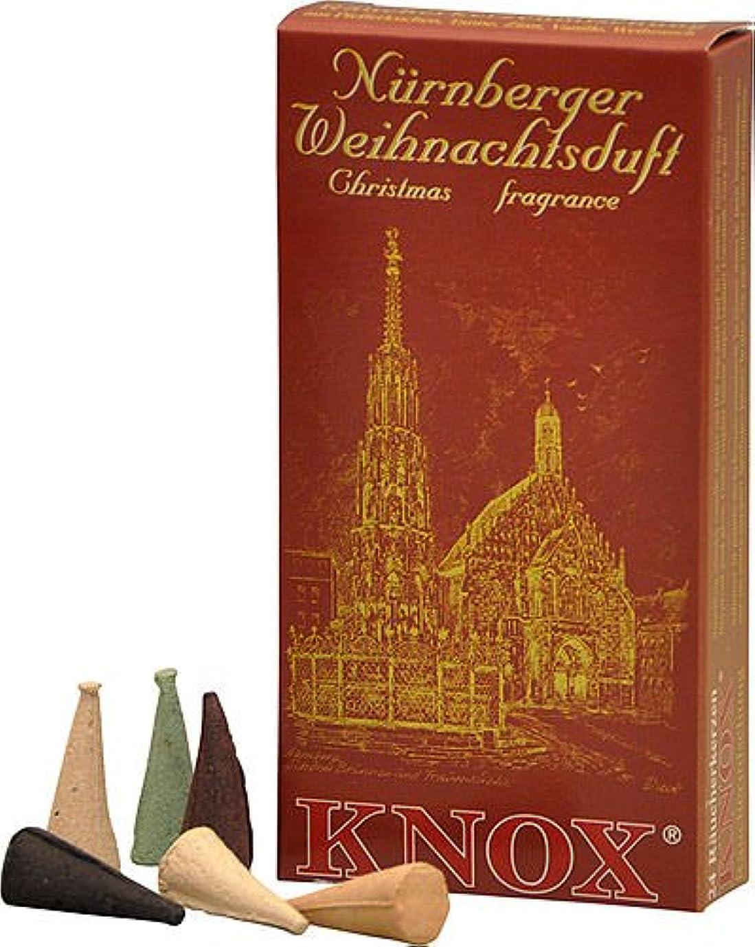 に対して枯渇する私たちのKnox NurembergドイツIncense Cones Variety Pack Made GermanyクリスマスSmokers