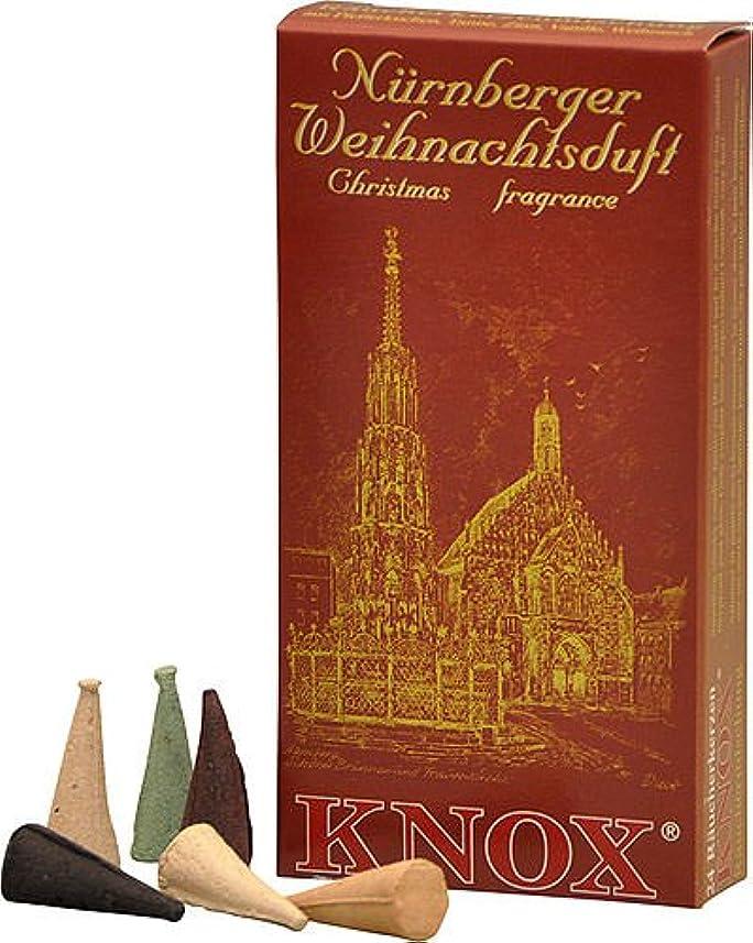 学部エンコミウムジョージスティーブンソンKnox NurembergドイツIncense Cones Variety Pack Made GermanyクリスマスSmokers