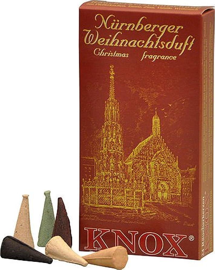 ダウンタウン反対した談話Knox NurembergドイツIncense Cones Variety Pack Made GermanyクリスマスSmokers