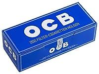 柘製作所(tsuge) 手づくりシガレット用 フィルター付きチューブ(さや紙) OCB チューブ [200本入り] #78878