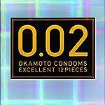 オカモト コンドームズ 0.02 ゼロゼロツー EX 1箱12個入 (レギュラー2個セット)