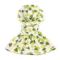 Blesiya 高品質 ラウンド帽子付き 短いスカート ワンピース 18インチアメカールガールドール人形のため 9色選ぶ - #2