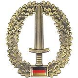 [ノルマニ]normani ドイツ連邦軍 ベレー帽用 紋章 ピンバッジ 色 陸軍 特殊部隊