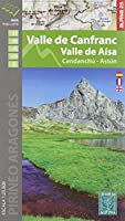 Valles Canfranc 1:25000: Wanderkarte