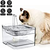 2020 New Upgrade Cat Fountain for Pet,Dog,Cat Water Fountain,Automatic Drinking Fountain,Dog Water Dispenser,Ultra Quiet Automatic Pet Water Dispenser with Adjustable Water Flow and Activated Carbon