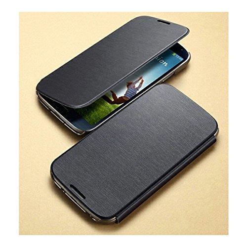 SGP GALAXY S4 用 ケース Ultra Flip Wallet Case ウルトラ フリップ ウォレット ケース カードポケット 付き メタリック ブラック [並行輸入品]