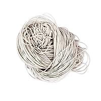 piaceto 80メートルワックス綿のコードストリング宝石のためのロープビーズの工芸品1.5ミリメートルを作る - 白