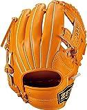 ゼット(ZETT) 少年野球 軟式 グラブ ネオステイタス オールラウンド用 右投げ用 オレンジ(5600) サイズ:M(130~145cm向け) BJGB70110