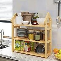 FANGFA キッチン棚マルチレイヤー電子レンジ収納ラック多機能スパイスラック(6サイズはオプション) (サイズ さいず : L*W*H: 53*25*67cm)