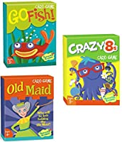 Peaceable Kingdom Kid's Card Game 3-Pack