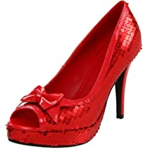 Dorothy (Red) Adult Shoes ドロシー(赤)大人の靴♪ハロウィン♪サイズ:6
