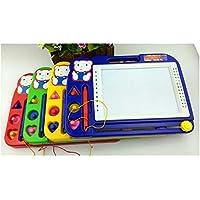 HuaQingPiJu-JP 赤ちゃんの子供のための描画ボード子供の落書き落書きボード消しゴムの書き込み絵画スケッチパッド